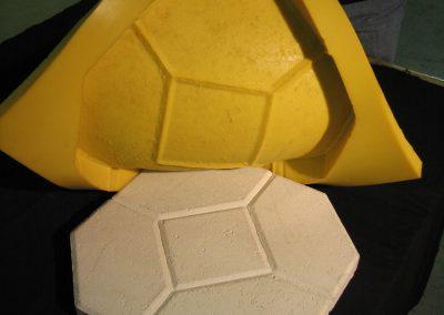 dış mermer benzeri kalıbı, kalıp, silikon, rtv, rtv2 kalıp silikonu,